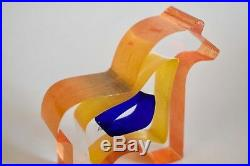 Kosta Boda Sweden Horse Designed By Bertil Vallien
