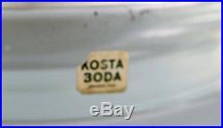 Kosta Boda, Sweden. Lamp in art glass. 1960's