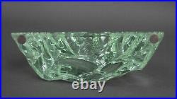 Kosta Boda Sweden Vicke Lindstrand Barracudas Fish Art Glass Ice Block Sculpture