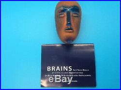 Kosta Boda Swedish Art Glass Brains Cesare- by Bertil Vallien