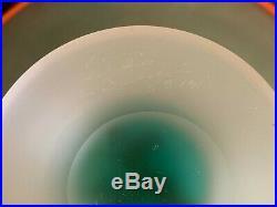 Kosta Boda Swedish Glass Monica Backstrom Pandora Bowl