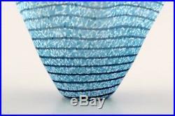 Kosta Boda, Ulrica H. Vallien art glass vase. Swedish design