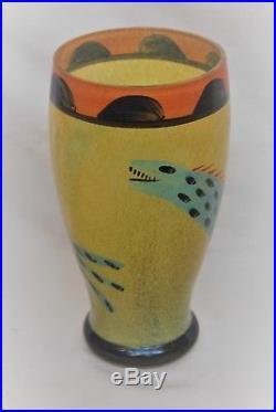 Kosta Boda Ulrica Hydman-vallien Large Vase Nevada