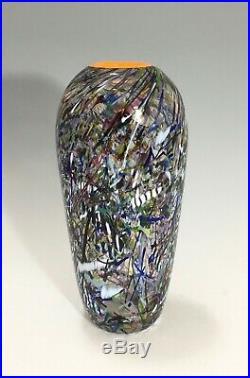 Kosta Boda Vase Artist Collection 48825 Multi Coloured Bertil Vallien
