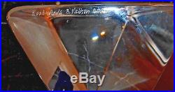 Kosta Boda Viewpoints Crystal Sculpture Reflection By Bertil Vallien Signed