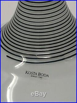 Kosta Boda vase signed B Vallien