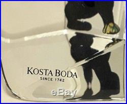 Kosta Bodaby Bertil VallienSwedenViewpoints SeriesArt GlassPanther#7099517