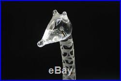 Kosta Vicke Lindstrand. Art Object Giraf Signed. 23 Cm. Very Rare