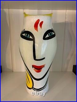 Kosta boda@Open minds@Ulrica Hydman Vallien@Tulip vase 36cm or 14 inches high@
