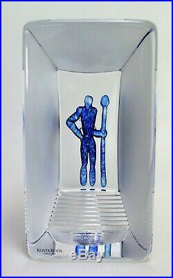 Kosta boda Viewpoints Sculpture by Bertil Vallien Paperweight
