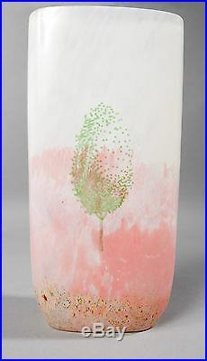 Kosta boda glass vase kjell engman maj sweden collectible scandinavian signed