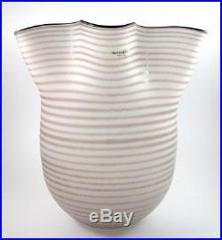 Large 24.5cm Vintage Kosta Boda Carmen Vase Signed Ulrica Hydman Vallien