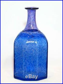 Large Kosta Boda 30cm Antikva Vase, Bertil Vallien, Artist Collection. Excellent