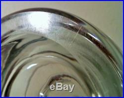 MCM scan art glass pitcher sweden denmark finland vtg holmegaard kosta boda vase