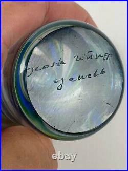 Mid Century Kosta Boda Scandinavian Art Glass paperweight Ann Goran Warff