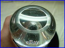 Mid-century Kosta Vicke Lindstrand Controlled Bubble 10.5 Flared Vase # Lh1009