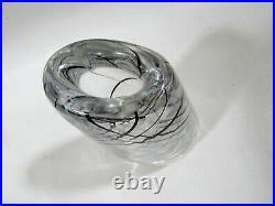 Midcentury Kosta Boda Vicke Lindstrand LH 1089 Art Glass Vase