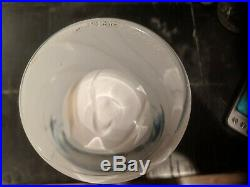 Milky White Kosta Boda Signed 8 1/2 x 3 1/2 Unique Vase Extremely Rare