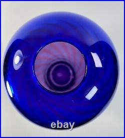Modern Art Glass Vase by Jan Erik Ritzman & Sven-Åke Carlsson Transjo Hytta