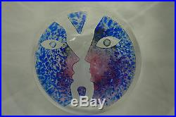 Modern Scandinavian Kosta Boda Sweden Art Glass Bowl