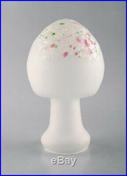 Monica Backström for Kosta Boda. Mushroom in art glass. 1980's