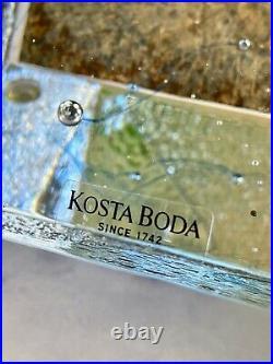 NEW Kosta Boda Messenger Art Glass Fine Swedish Crystal Artist Bertil Vallien