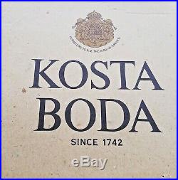 NIB Kosta Boda LIMELIGHT Dinner Service for 4 + 2 Serving Pieces 65% OFF NEW