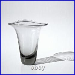 Original Mid-Century Vintage Glass Vase by Vicke Lindstrand for Kosta