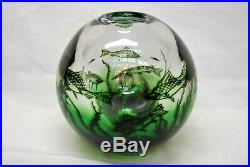 Orrefors Sven Palmquist Large Vase Fishgraal