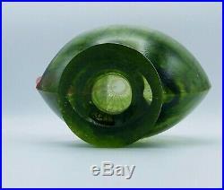RARE Signed KJELL ENGMAN Kosta Boda ART Glass 11 CORFU Pitcher 7080512 MINT