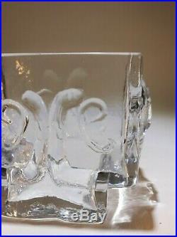 Rare Eric Hoglund Face Vase Boda Sweden