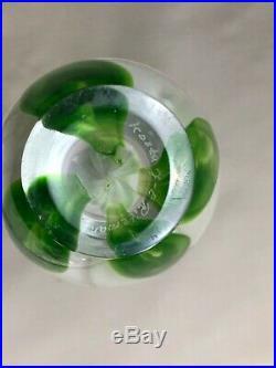 Rare Jan-Erik Ritzman Kosta Boda Rose/Flower Vase Swedish Art Glass Pre Transjo