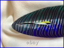 Rare Kosta Boda Art Glass Boat by Bertil Vallien Limited Edition Signed # 99312