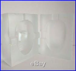 Rare Kosta Boda Cell Sculpture By Bertil Vallien Signed