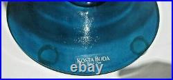 Rare Kosta Boda Figural Decanter by Kjell Engman With Original Top & Label