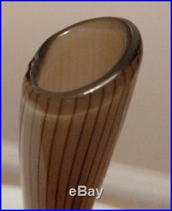 Rare Kosta Vicke Lindstrand Colora Vase LC 18
