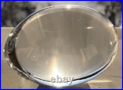 Rare Signed set MONA MORALES-SCHILDT KOSTA BODA Two Dice & Egg clear Glass
