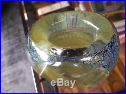 Rare Vintage 1960s Kosta Boda Large Lappland Series Vase by Goran Warff