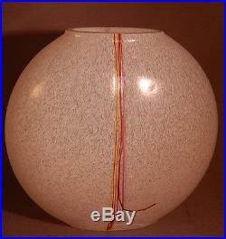 SALE! Kosta Boda Signed Sweden Art Glass Mid-Century Modern Vase! GORGEOUS