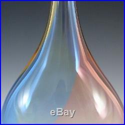 SIGNED Kosta Boda Fidji Glass Vase by Kjell Engman