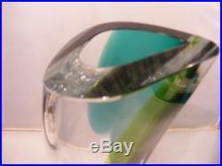 Stunning Kosta Boda Glass Vase