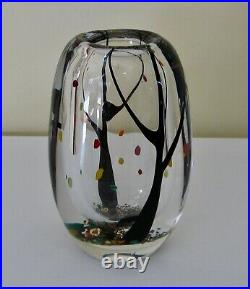 Superior Autumn Vase By Lindstrand For Kosta