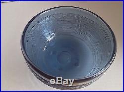Swedish Art Glass Bowl Spun, BENGT EDENFALK, Skruf