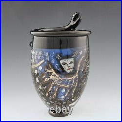 Ulrika Hydman Vallien Glass Vase for Kosta Boda 1993