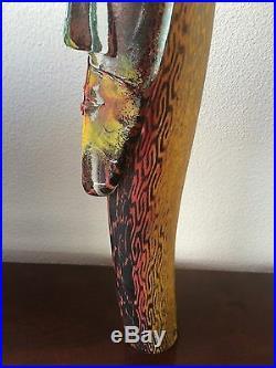 Unique Kosta Boda Fabulous Sculpture signed Kjell Engman