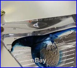 Unique Kosta Boda Sweden Glass Sculpture Bertil Vallien Signed Ltd 300
