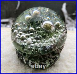 Unique! Signed GORAN WARFF KOSTA BODA Sweden Room Jewelry Art Glass, H 2 3/4