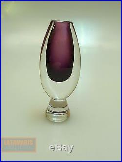 Vase Kosta Boda Schweden Um 1960 Kunstglas Swedish Art Glass Sixties