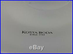 Very rare Kosta Boda teacup sculpture limited edition signed by Kjell Engman