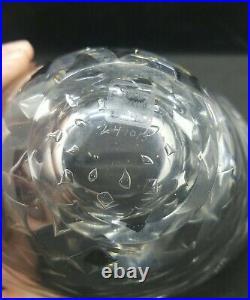 Vicke Lindstrand Kosta Hand Blown Art Glass Ariel Bowl LH 1013 1950s Bullicante